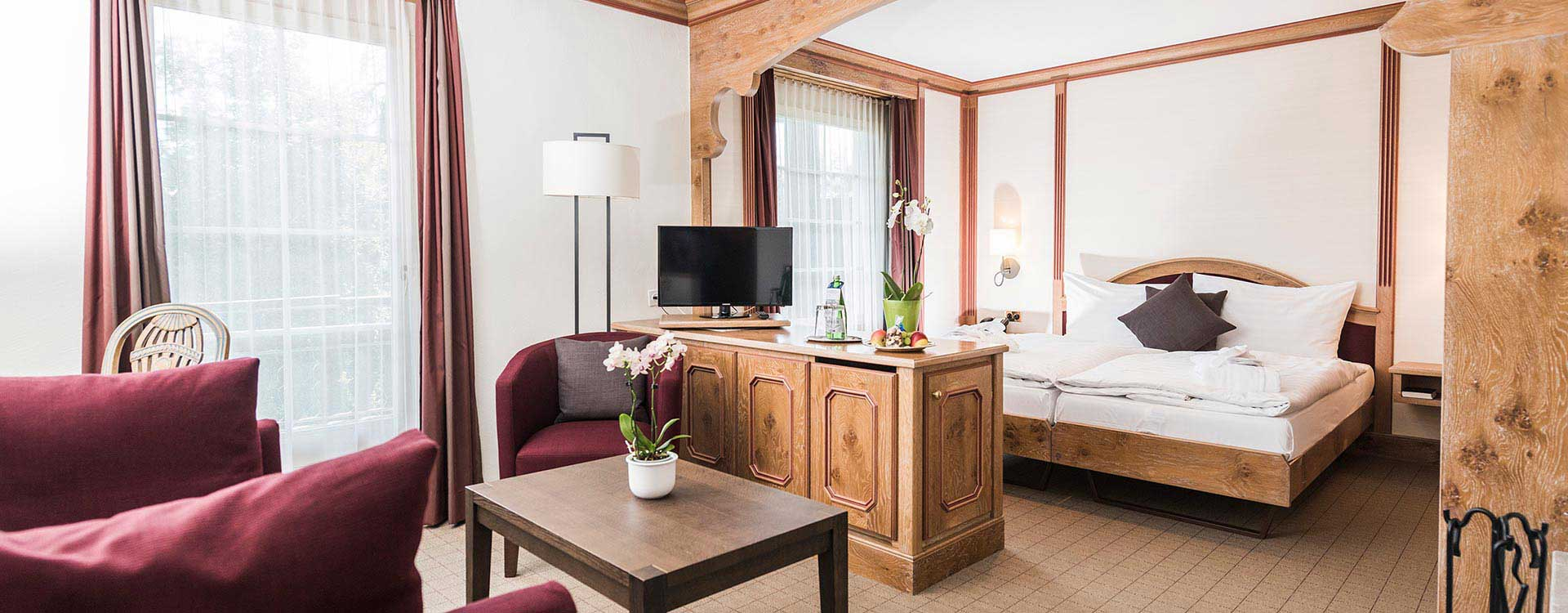 Wellnesshotel in Laax.